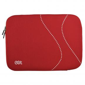 Ecat ECSLDOT10R dot sleeve 10.2 inch, red