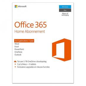 Microsoft 6GQ-00788 Office 365 Home Premium NL [1yr: Word, Excel, PowerPoint, Outlook, Access +]