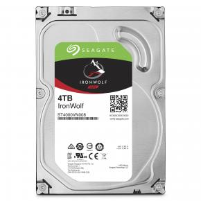 Seagate ST4000VN008 IronWolf NAS HDD [4TB, 3.5`, SATA3 6Gbps, 5900 RPM, 64MB, 180MB/s]