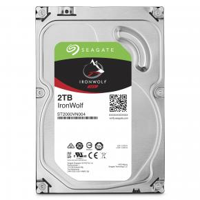 """Seagate ST2000VN004 IronWolf NAS HDD [2TB, 3.5"""", SATA3 6Gbps, 5900 RPM, 180 MB/s, 5W]"""