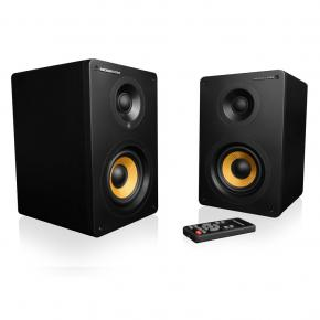 "Modecom G-F-HF60-MC-HF60 ECLIPSE 60 Speaker Set [2.0CH, 2x 30W, 55Hz-22kHz, 3.6"" + 1/4"", BT4]"
