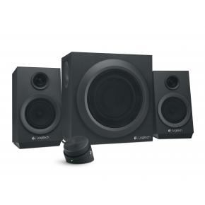 Logitech Z333 2.1CH Speaker Set [3.5mm, 40W RMA, 55 - 20000Hz, 10 O, Black]