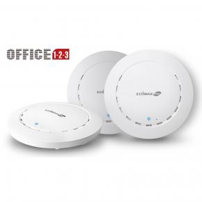 Edimax Office +1 2 x 2 ac1300wave 2dual-band ceiling-mount poe access point