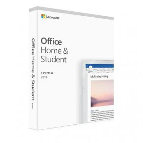 *Microsoft 79G-05033 Office Home and Student 2019 UK [1yr, Win/MAC, Word/ Excel/Powerpoint/ OneNote]
