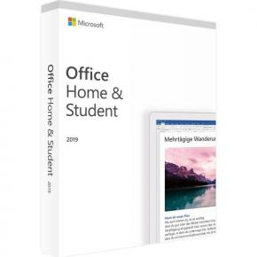 Microsoft 79G-05153 Office Home and Student 2019 DE [1yr, Win/MAC, Word/ Excel/ Powerpoint/ OneNote]