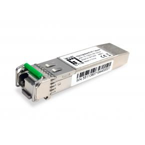Levelone SFP-6541 10Gbps Single-mode BIDI SFP+ Transceiver, 40km, TX 1330nm / RX 1270nm